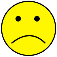 Smiley face free download. Emotions clipart sad smile
