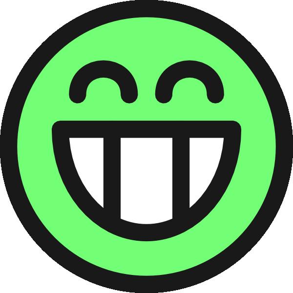 Smiley face clip art. Facebook clipart lik