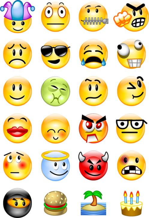 Emotions clipart smiley face. Clip art panda free