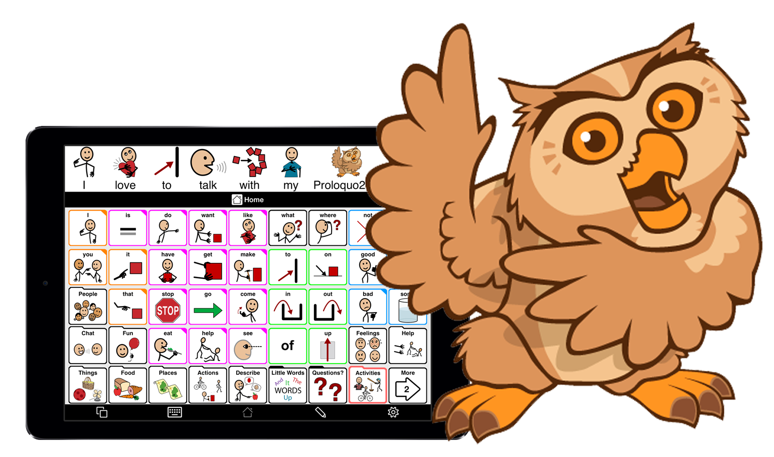 Young clipart adjective. Register for proloquo go