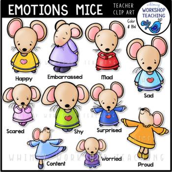 Emotions clipart teacher workshop. Mice clip art for