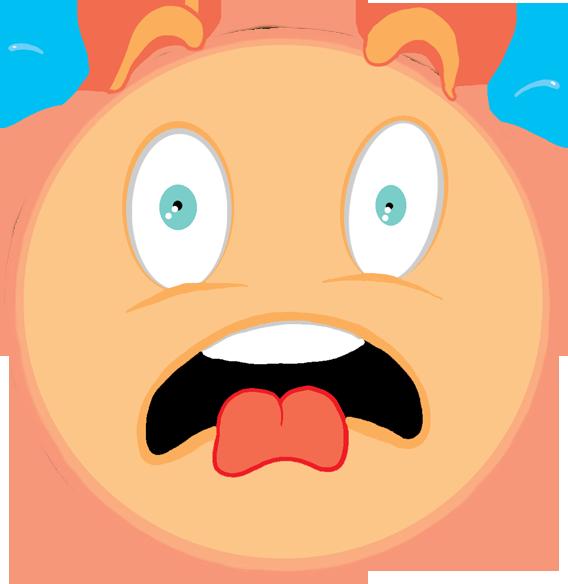 Surprise clipart fright. Clip art google free