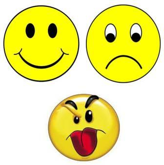 Free emotion pictures faces. Emotions clipart yellow face