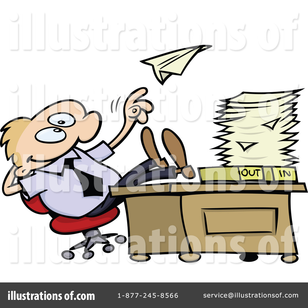 Employee clipart. Illustration by gnurf royaltyfree