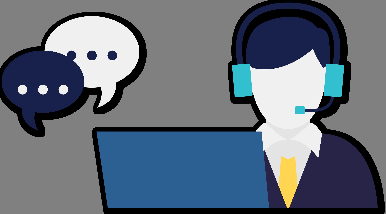 invensio contactcenter. Headphones clipart student centers