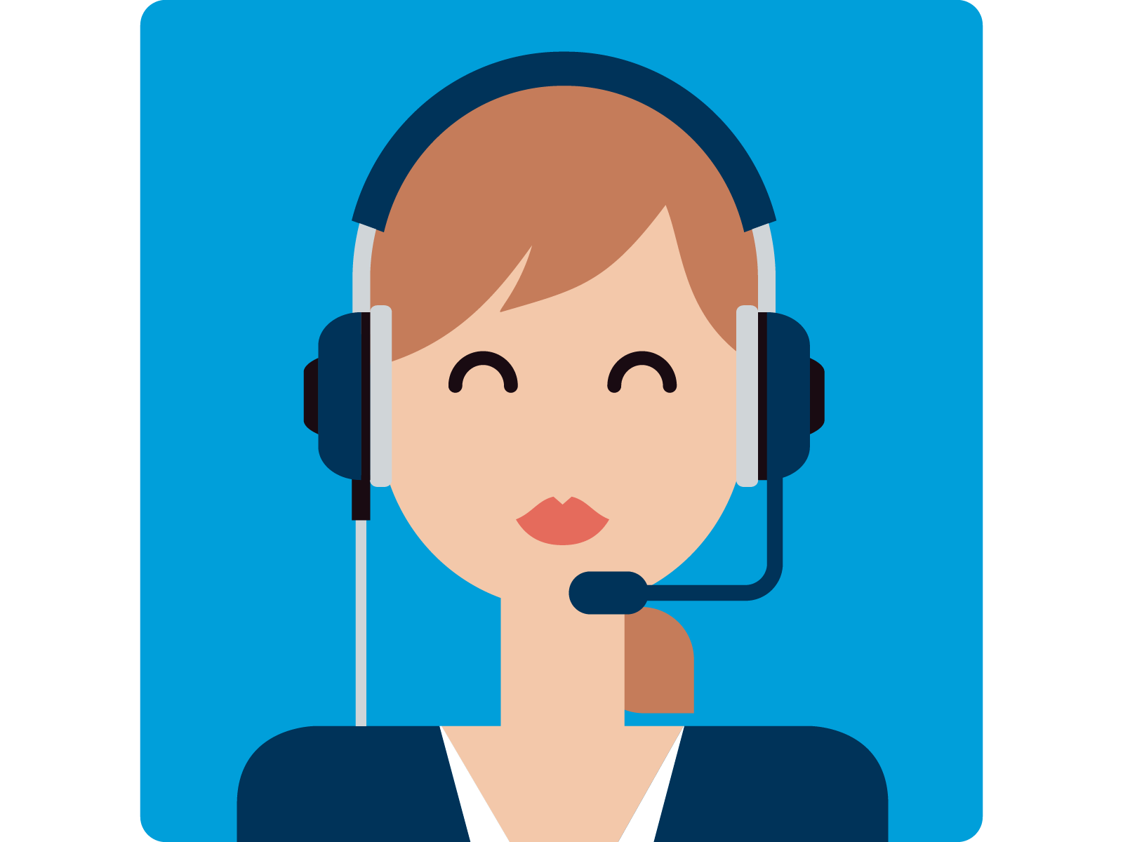 Career at startrack contact. Employee clipart call center