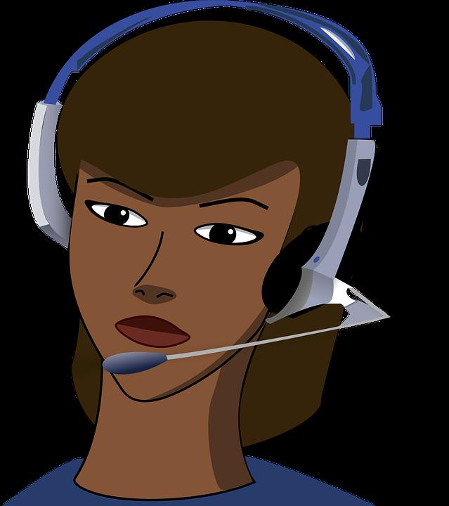 White paper customer care. Employee clipart call center