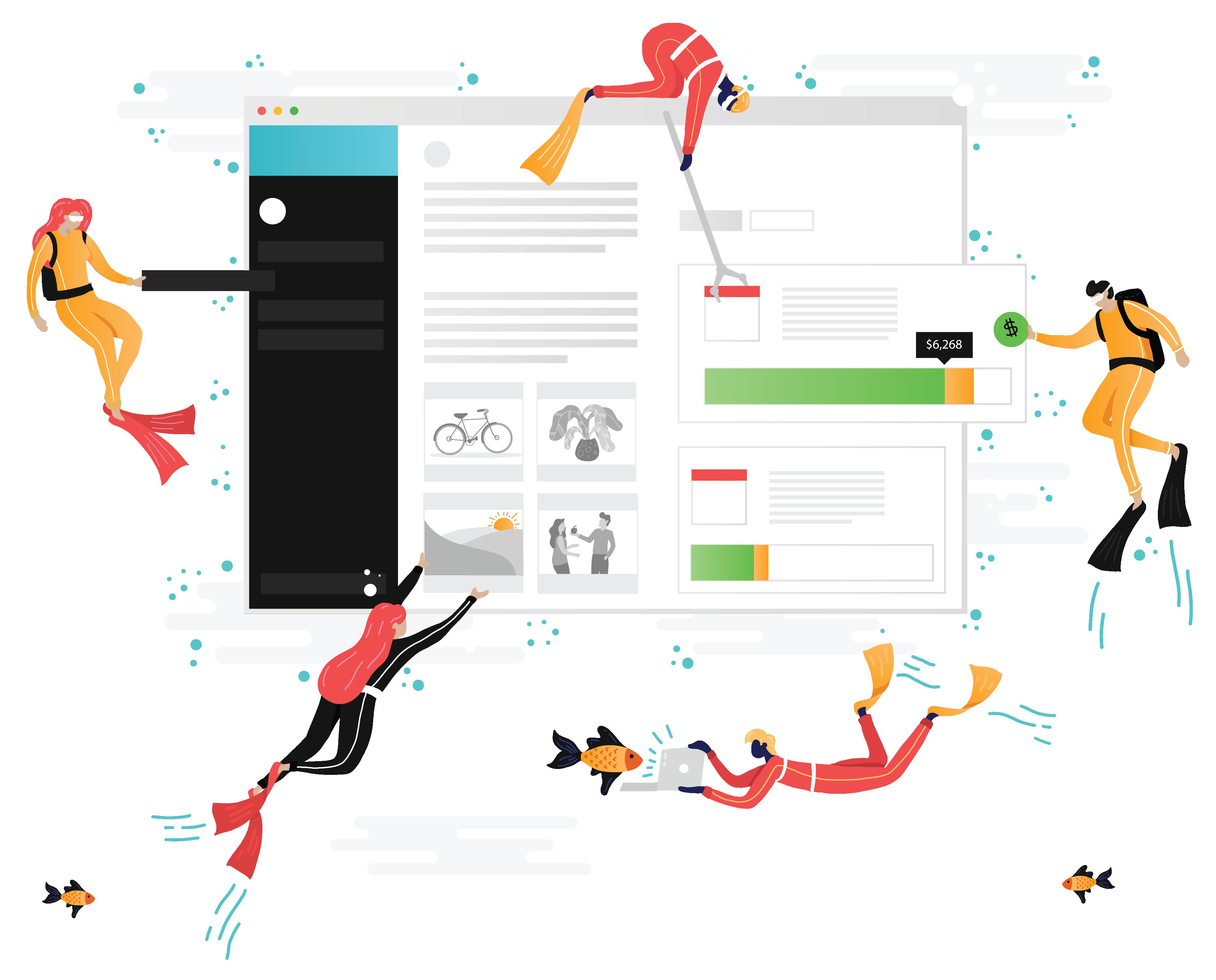 Porpoise app csr platform. Employee clipart community engagement