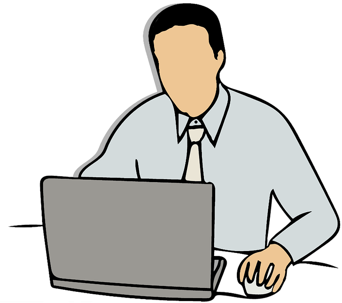 Employee clipart computer worker. Table work cliparts buy