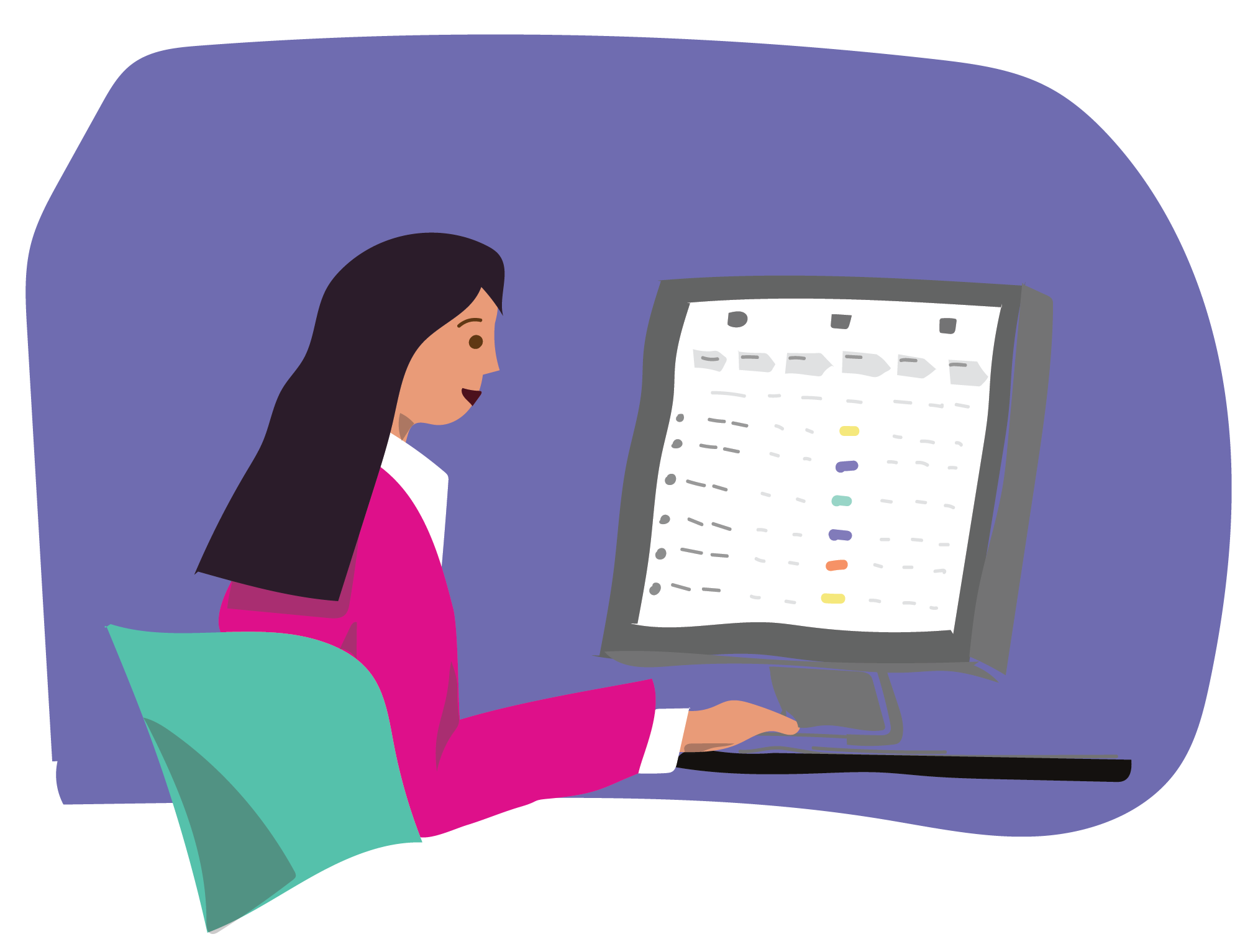 Corehr by sapling spend. Employee clipart employee induction