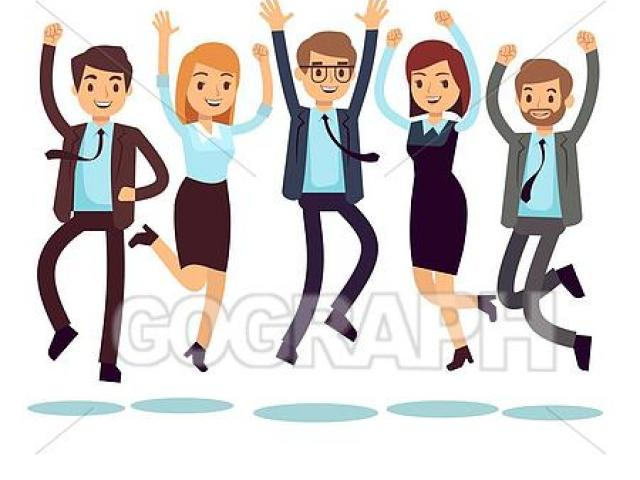Employee clipart employee team. Free staff download clip