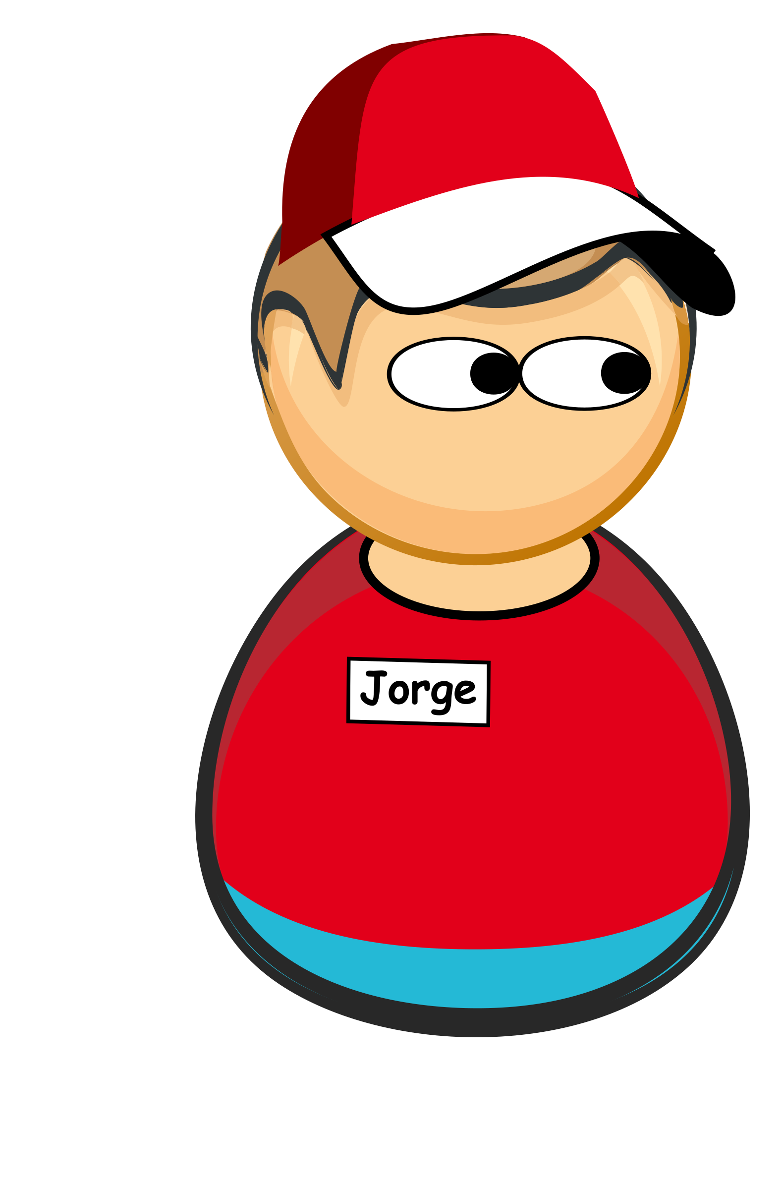 Generic big image png. Employee clipart fast food worker