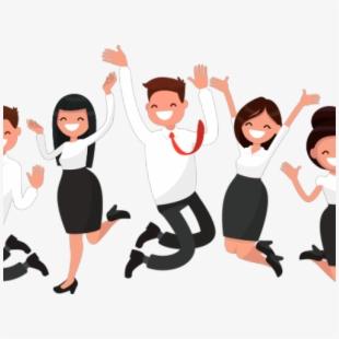 Employee clipart happy employee. Customer employees