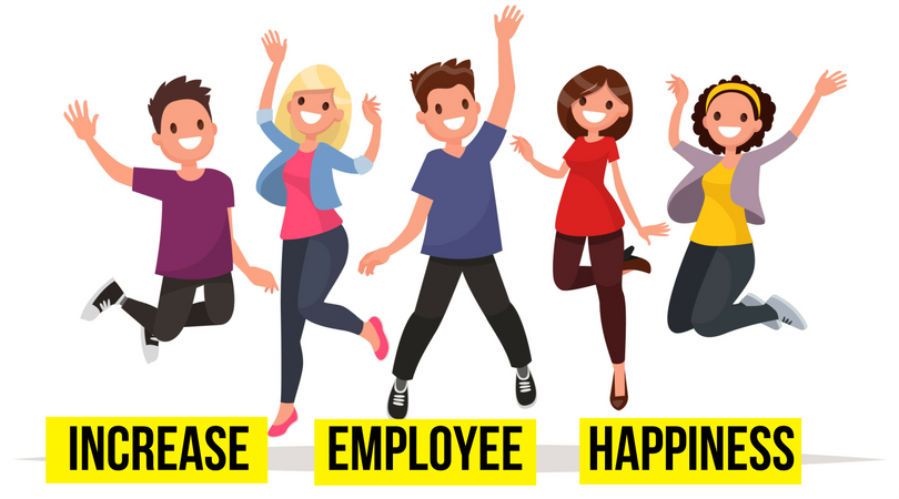 Friendly and supportive hr. Employee clipart happy employee
