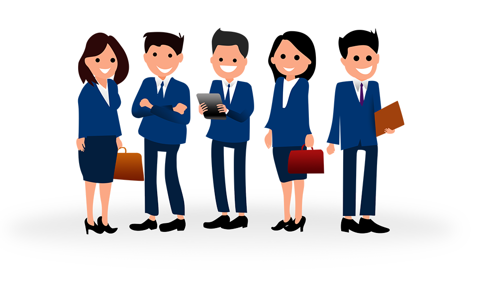 Time attendance system features. Employee clipart hotel employee