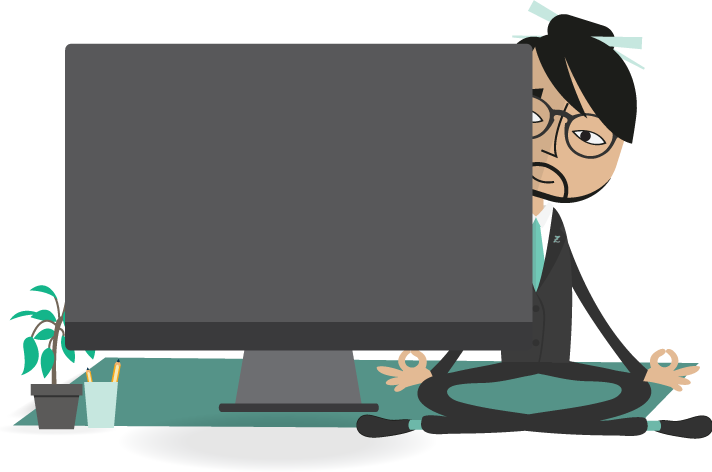Employee clipart hr manager. Zenhr hrms video