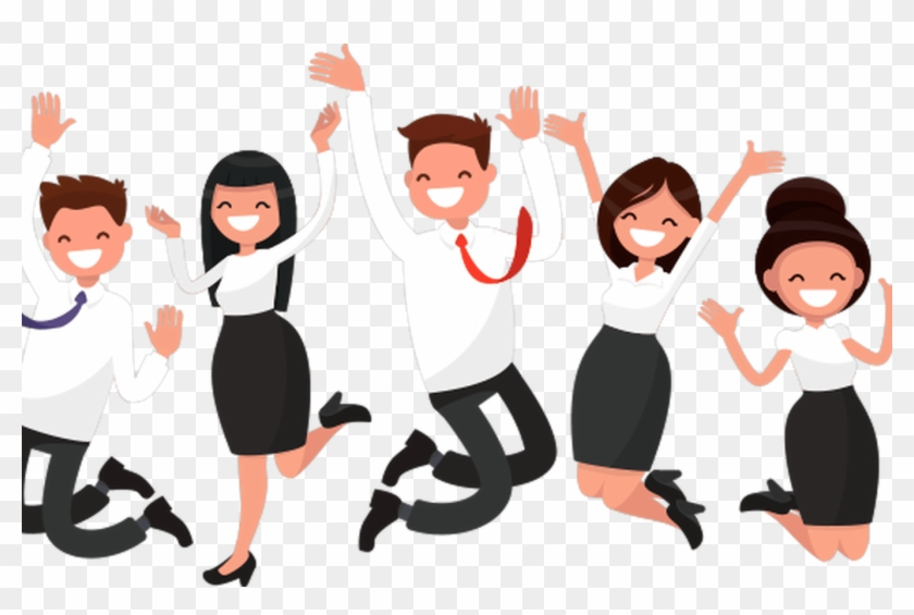 Happy cartoon bing images. Employee clipart interaction