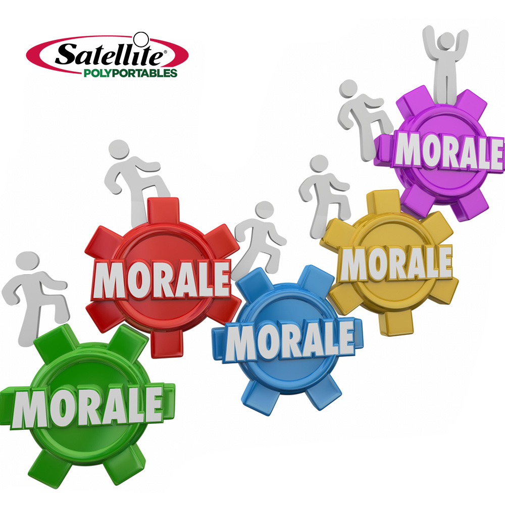 Happy people are better. Motivation clipart employee morale