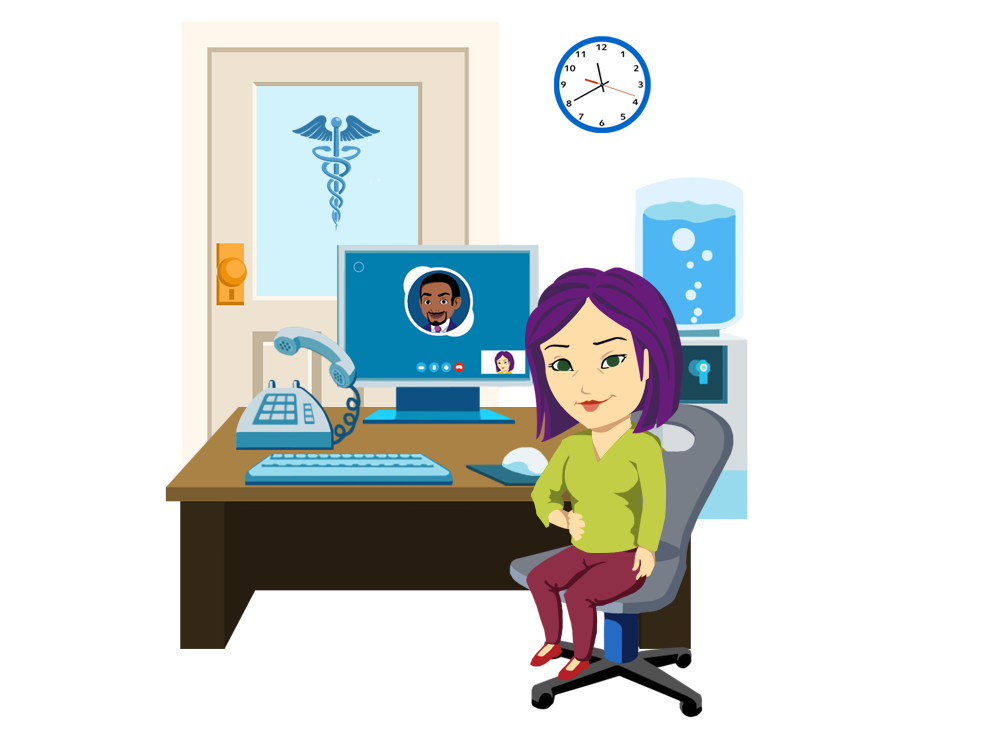 Png a constantly uses. Employee clipart receptionist