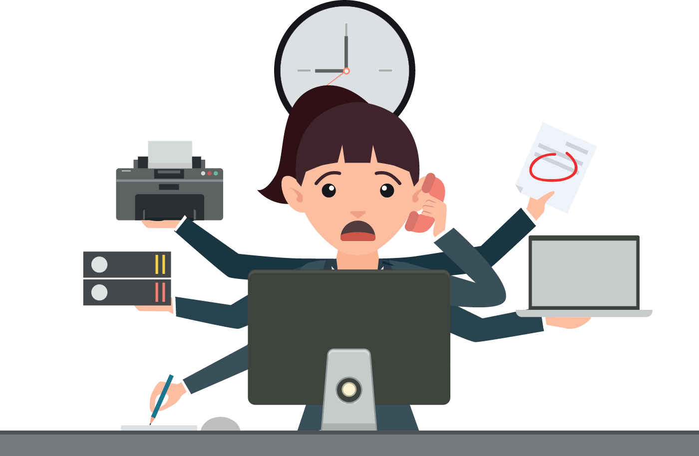 Cba blog the. Employee clipart receptionist