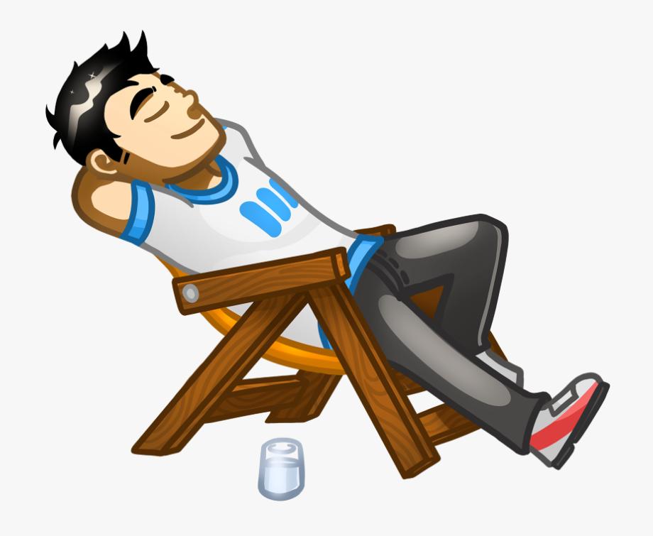 Employee clipart relaxed. Cartoon cliparts cartoons