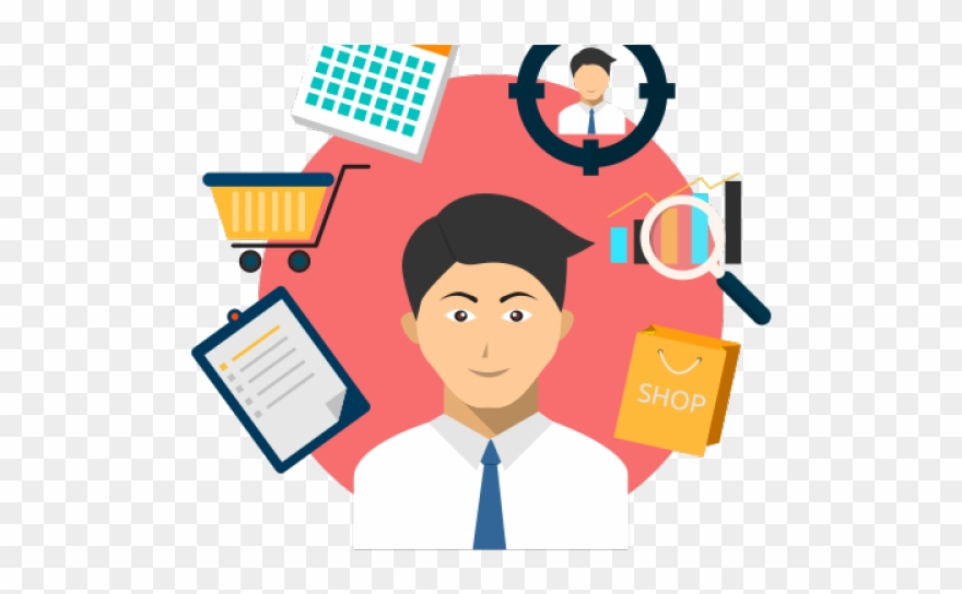 Employee clipart retail employee. Store focusing png