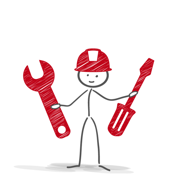 Employee clipart stickman. Servicetechnology positions