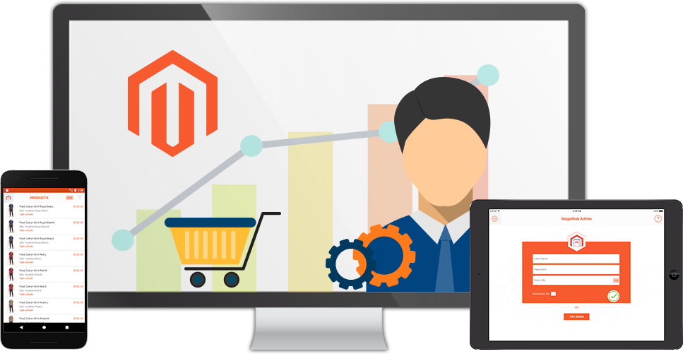 Manager clipart shop manager. Magento admin mobile app