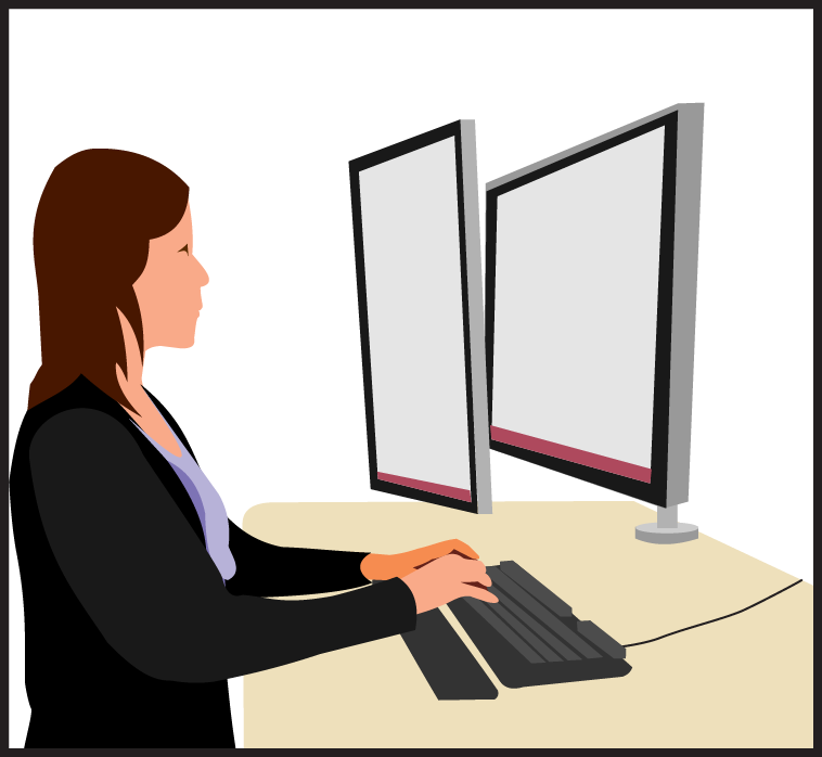 Employee clipart support staff. How we do it