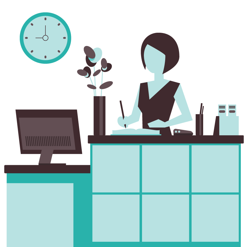 Employee clipart support staff. Immediate temporary admin cover