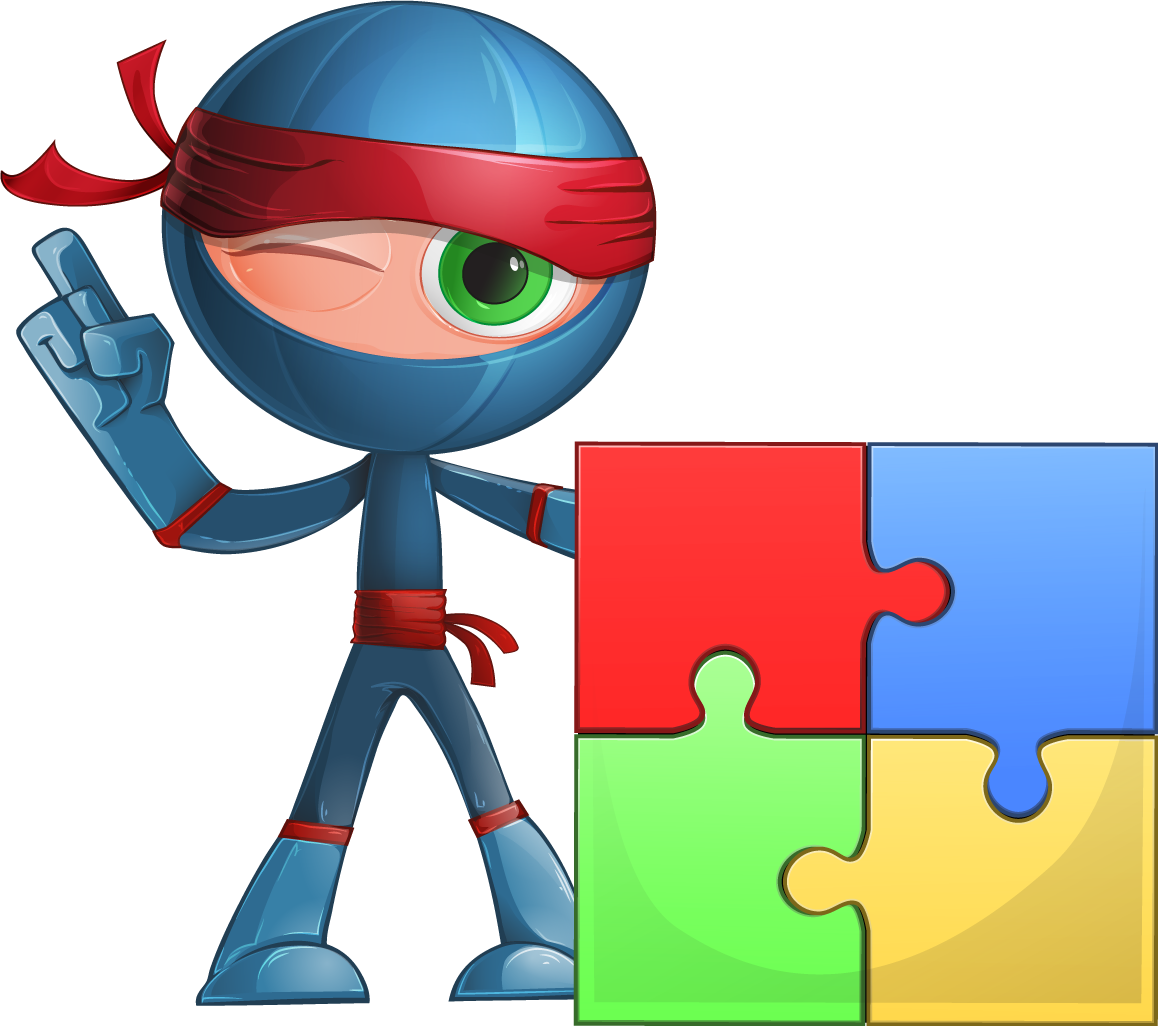 Employee clipart teamwork. Super ninja corporate training