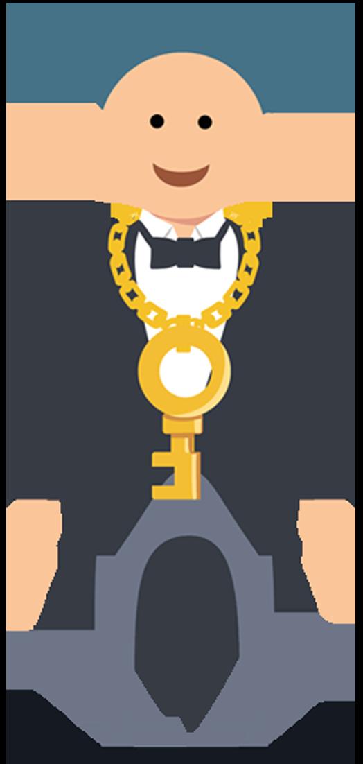 Goforlife about us. Employee clipart tuxedo