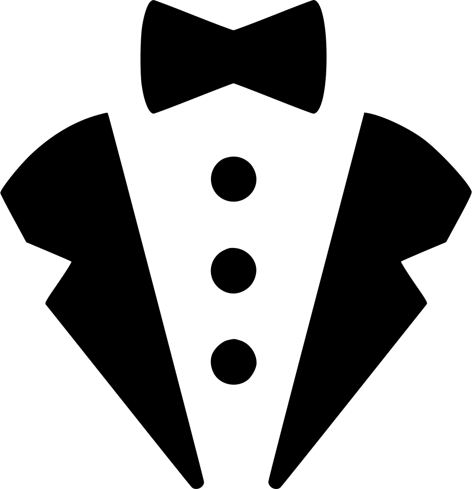 Employee clipart tuxedo. Tux svg png icon
