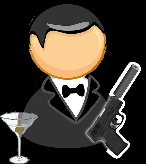 Guns and social insurance. Employee clipart tuxedo