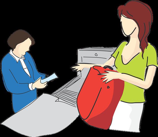 Stock items screening odoo. Employee clipart warehouse employee