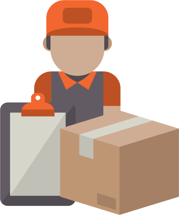 st choice delivery. Employee clipart warehouse employee
