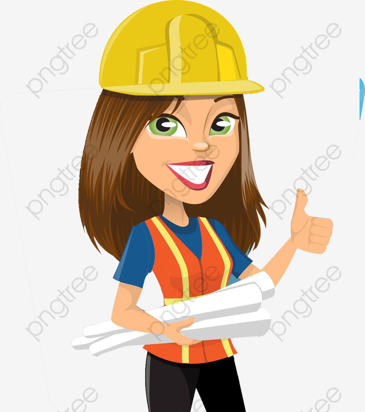 Employee clipart woman employee. Download for free png