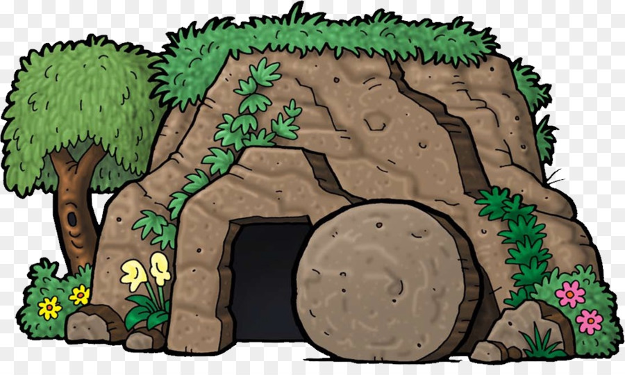 Empty tomb clipart animated. Easter cartoon