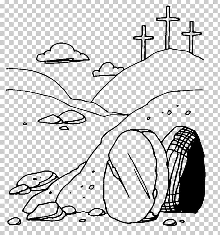 Empty tomb clipart i am the resurrection and the life. Of jesus png