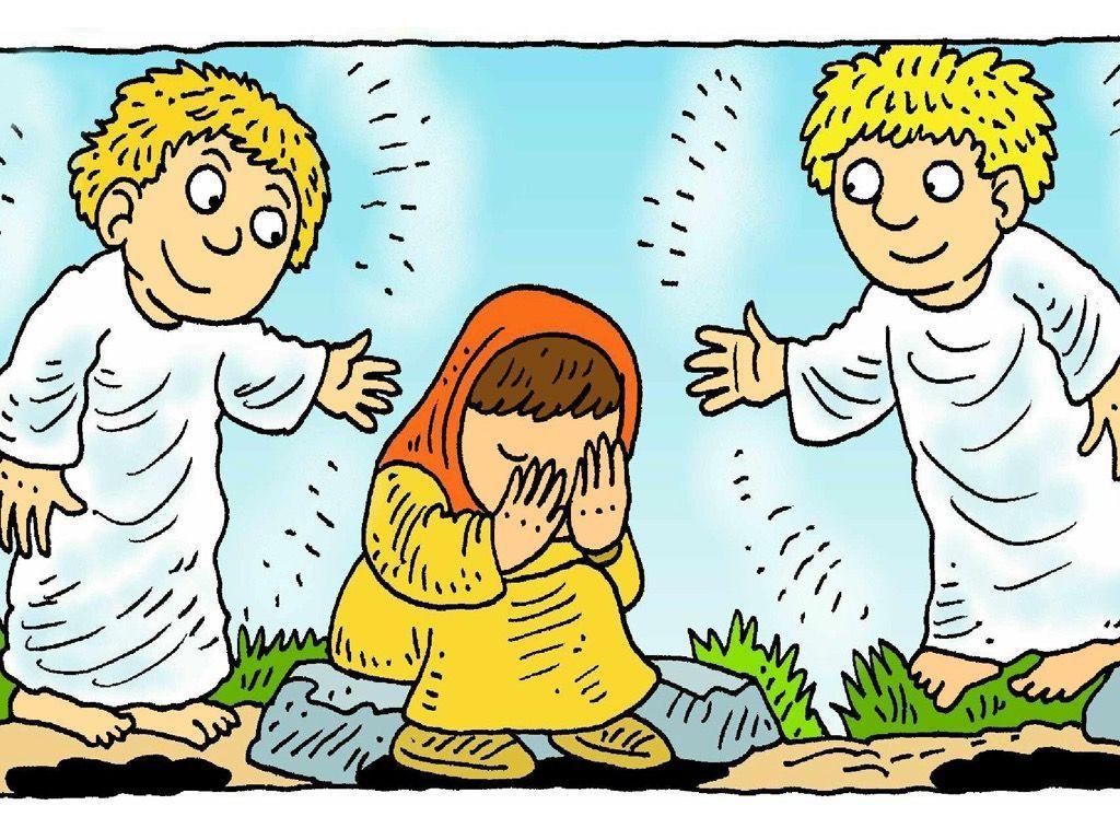 Empty tomb clipart jesus is alive. Free visuals part peter