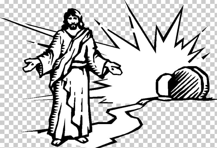 Jesus is resurrection of. Empty tomb clipart risen lord