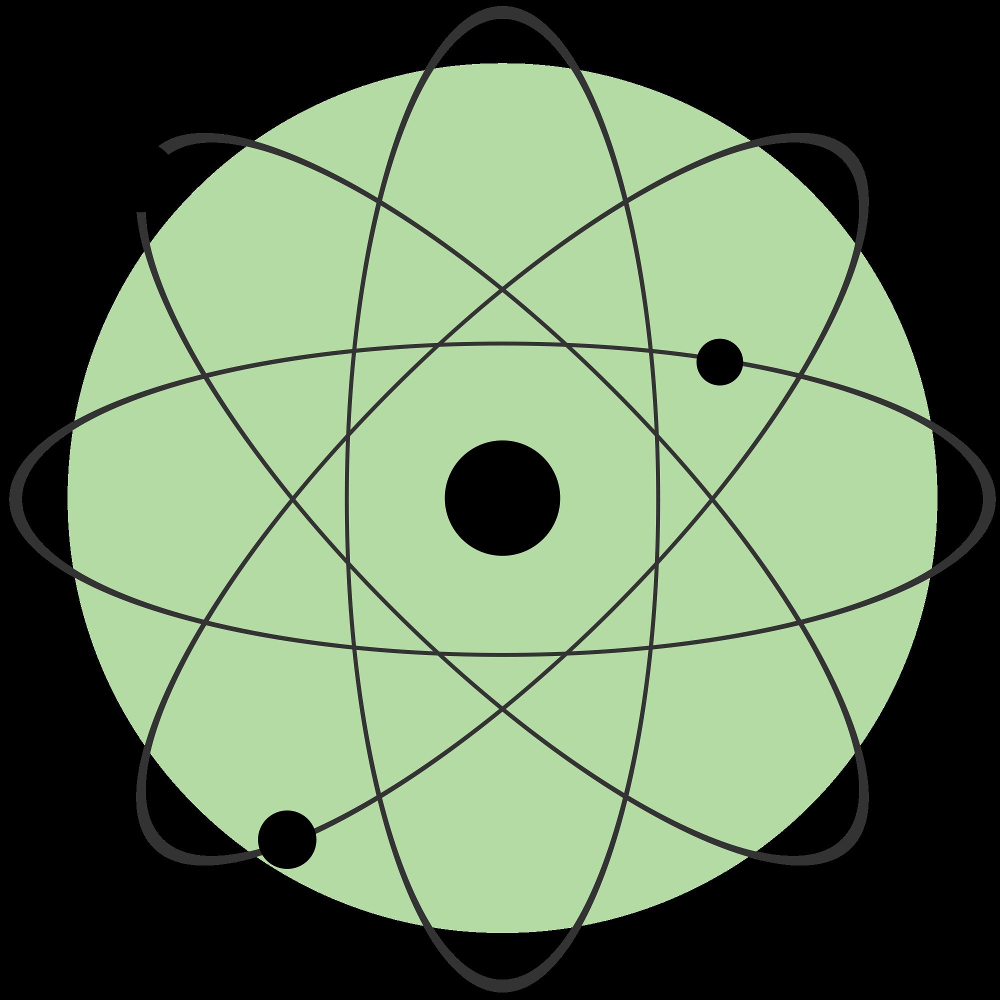 Physics atomic model