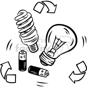 Energy clipart black and white. Sustainable royalty free