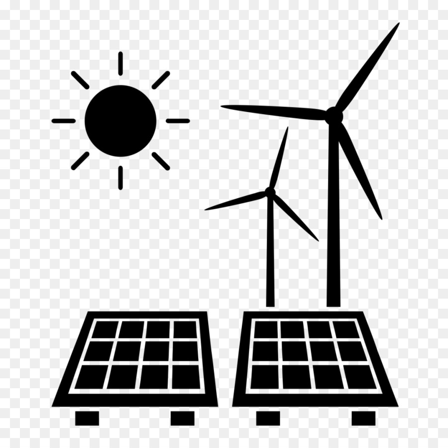Energy clipart black and white. Wind cartoon line technology