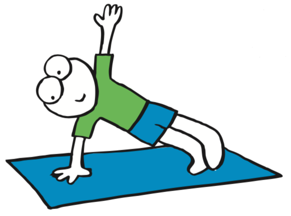 Exercise courses classes . Exercising clipart gentle