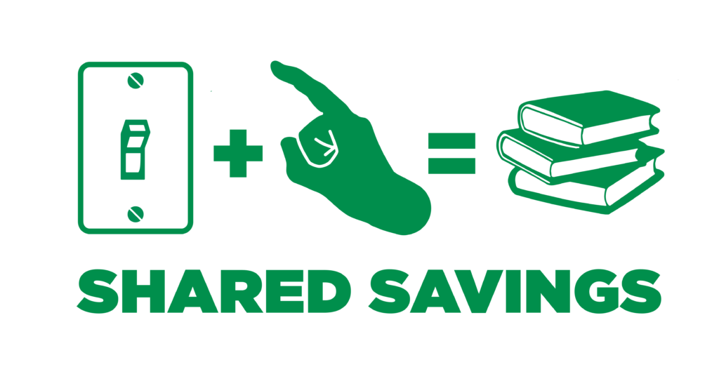 Energy clipart effort. Share the savings all