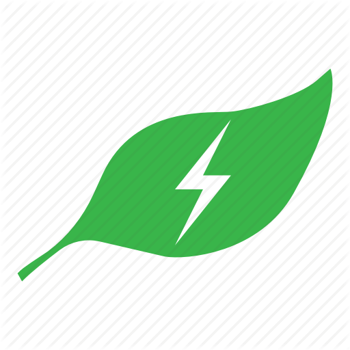 Green leaf logo transparent. Energy clipart energy symbol