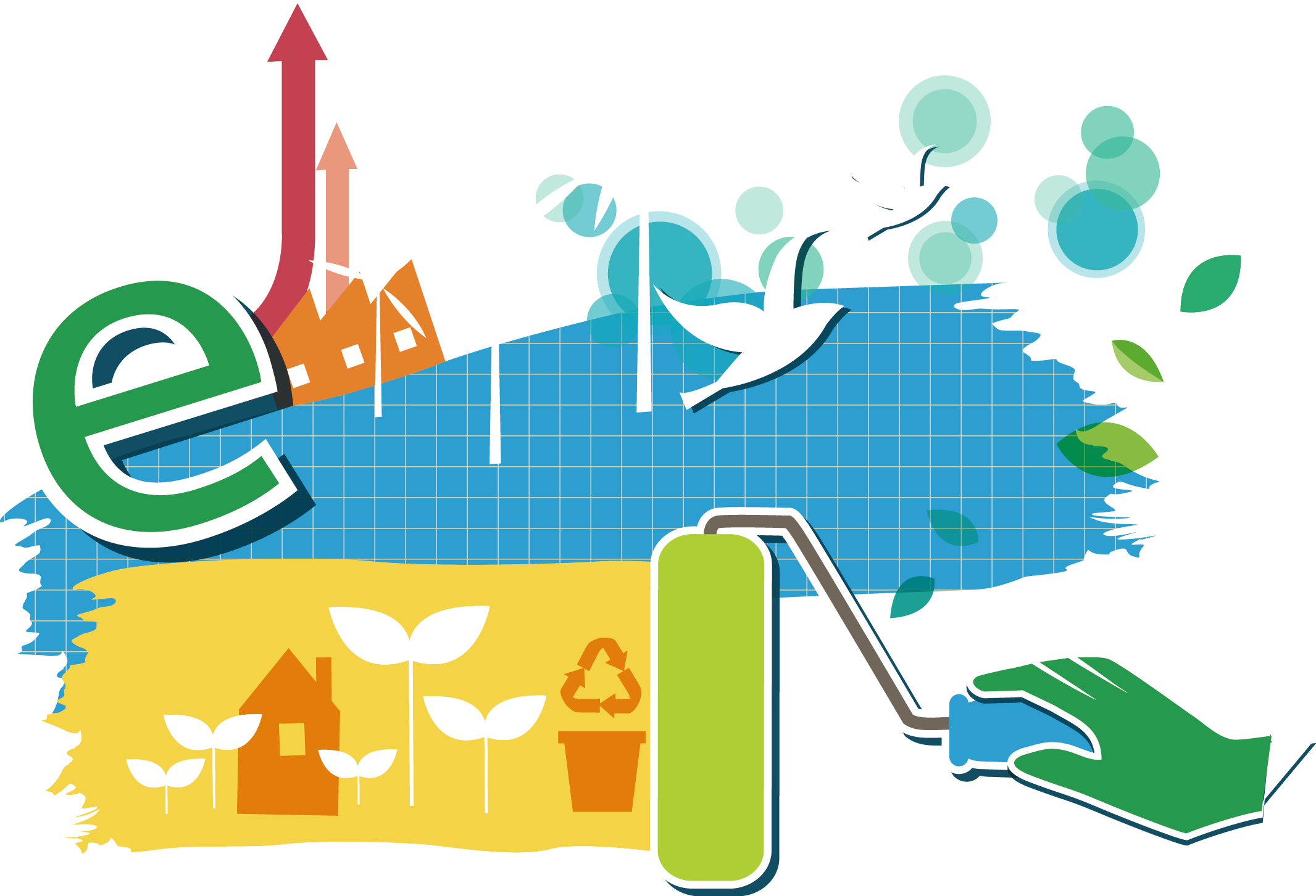 Natural ecology icon clean. Energy clipart environment protection