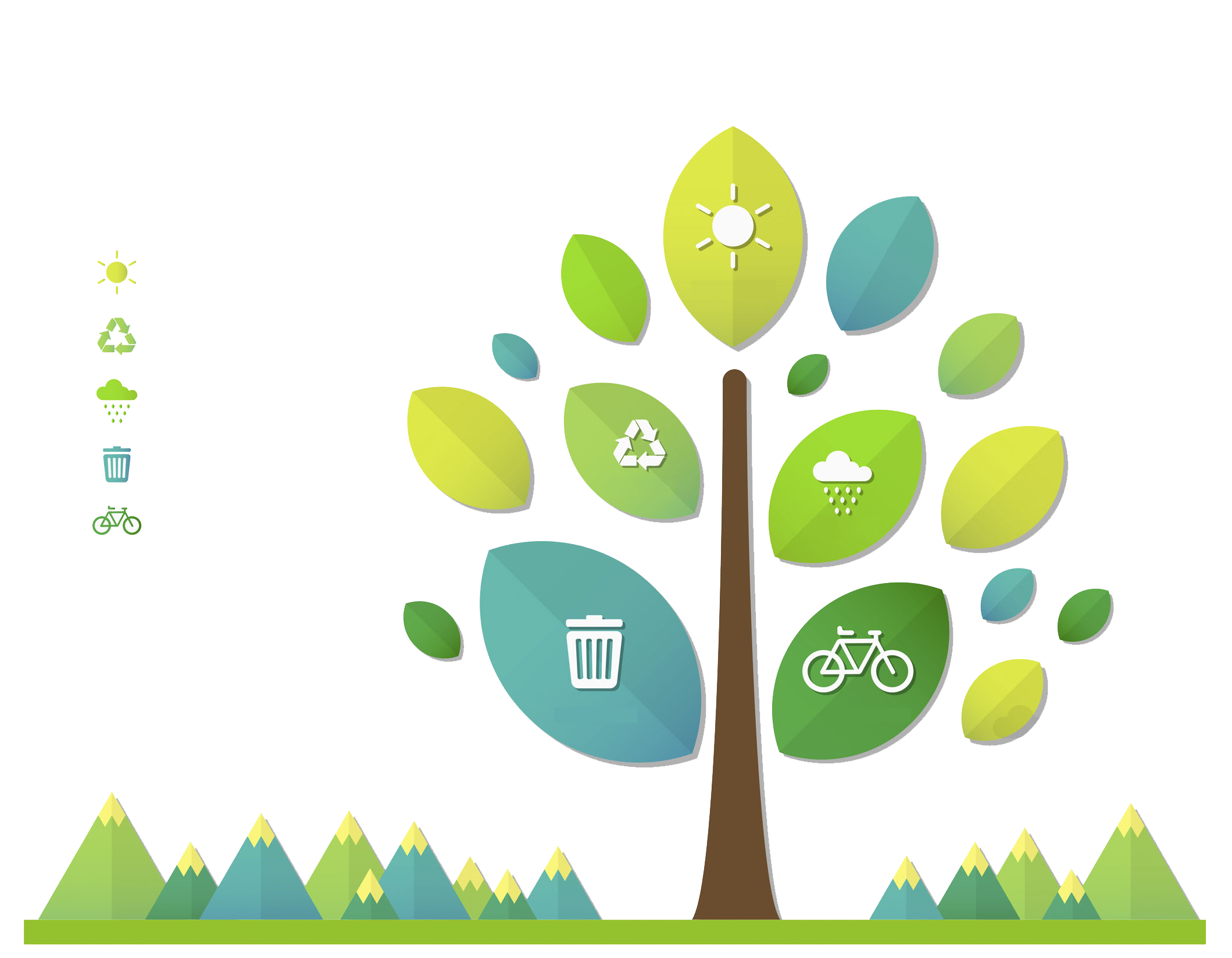 Environment clipart environmental background. Protection infographic natural green