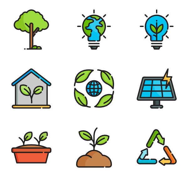 Environment clipart sustainable development.  icon packs vector